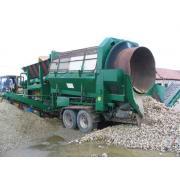 Statie sortare produse de balastiera de la Ghmc-mineral Grup