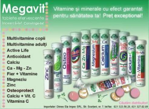 Vitamine Megavit de la Dimex-Ela Impex S.r.l.