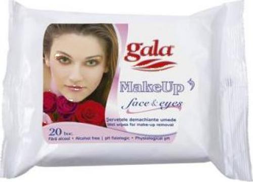 Servetele umede Gala Make-up Remover de la Point Distribution Grup