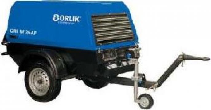 Compresor De Aer Mobil Cu Snec 3 mc/min