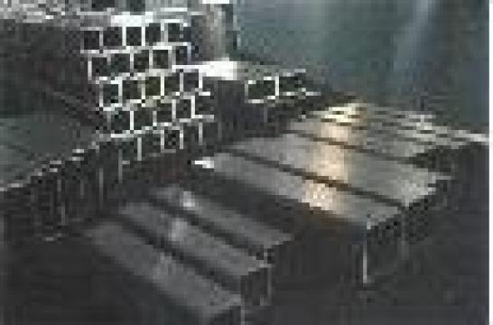 Teava rectangulara inox de la Eurometals Service Center Srl