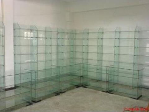 Rafturi si toneti sticla de la Neoglass Prod Com