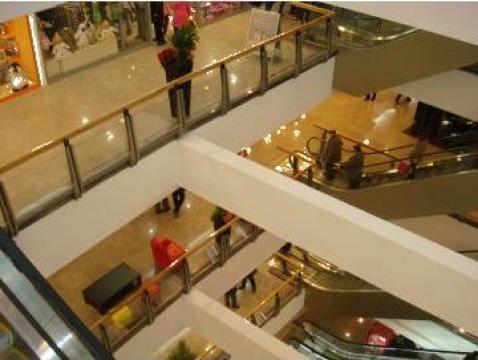 Balustrada din inox pentru spatii comerciale