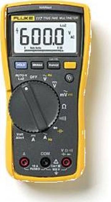 Multimetru digital Fluke 117 de la Nova Test Industrial Srl
