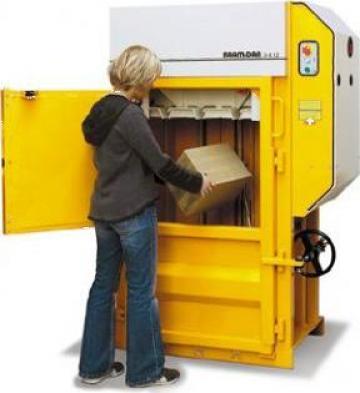 Presa de balotat carton, folie, PET, doze aluminiu X 12 de la Sc Schuster Recycling Technology Srl