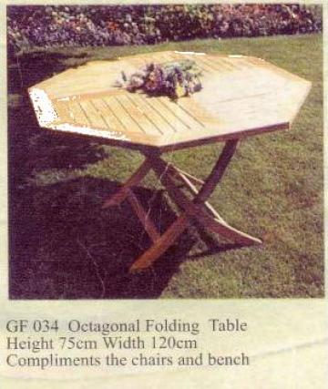 Masa pentru terasa de la Sc Oviad Com Srl