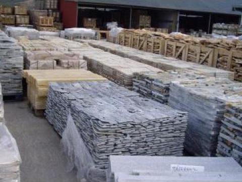 Piatra naturala pentru pavaje si fatade de la Tyrolex Trade Srl
