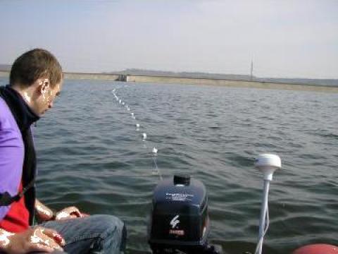 Investigatii geofizice - Prospectarea lacurilor si raurilor