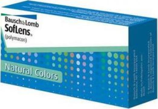 Lentile de contact colorate SofLens Natural Colors de la Drlentila.ro