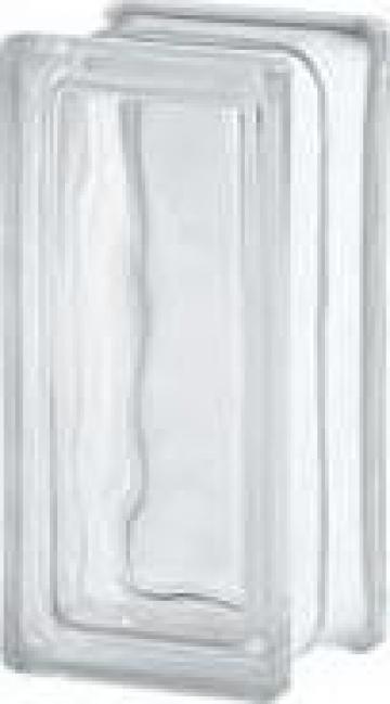 Caramida de sticla clara - jumatate de la Geo & Vlad Com Srl