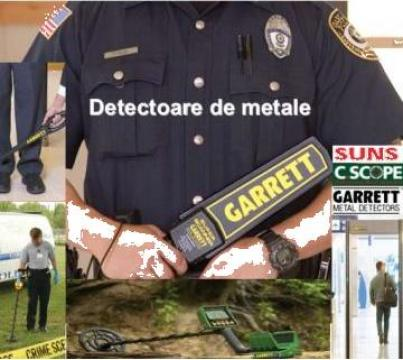 Detectoare de metal de la Security Range Srl