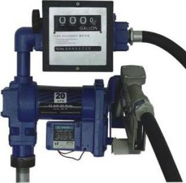 Pompa de transvazat benzina Antiex cu contor