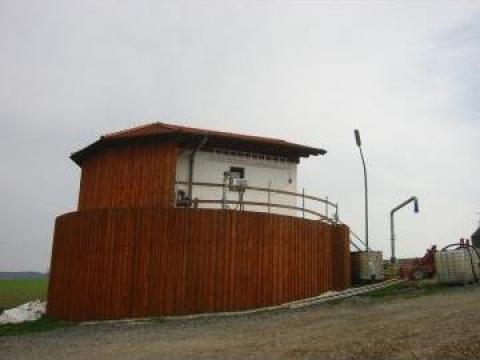 Fabrica de biogaz