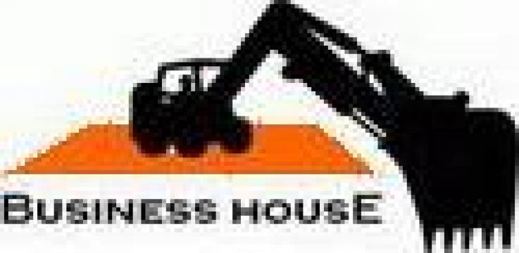 Amenajari terenuri, drumuri, terasari si fundatii de la Business House
