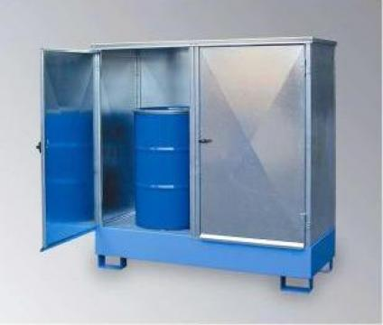 Container pentru depozitare butoaie de la Parcon Freiwald Srl
