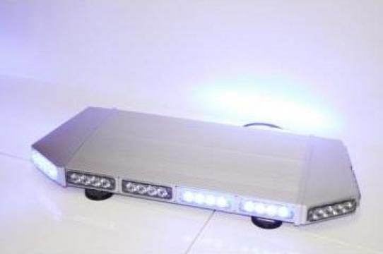 Girofar auto minirampa albastra cu LED de la Flashalarm Electric