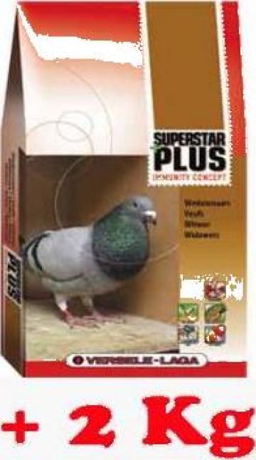 Hrana porumbei Super Star Plus de la S.c. Petmag Online S.r.l.