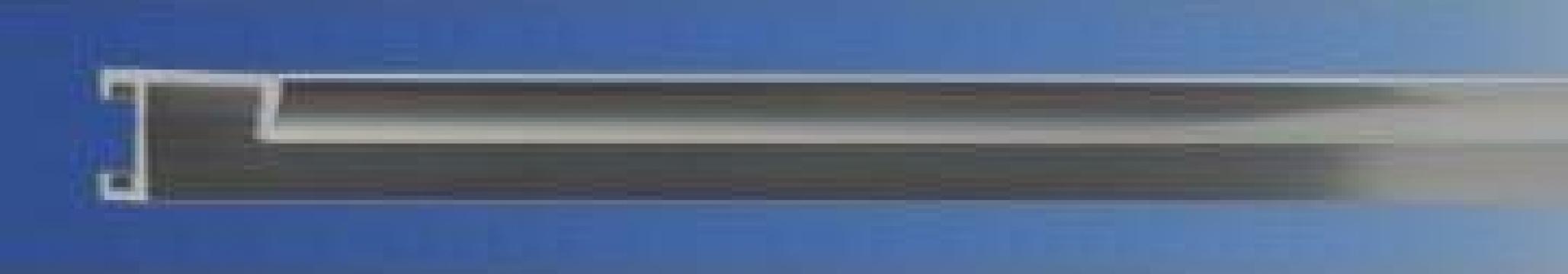 Profil din aluminiu A1 lucios, subtire de la Frameart Decor Srl.