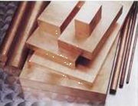 Produse din cupru: tabla cupru, bara cupru
