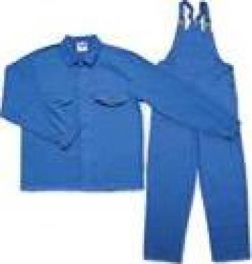 Salopeta cu pieptar haina si pantalon din doc sau tercot de la Sc Avantaj Textil Srl