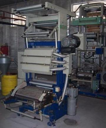 Masini de imprimat inline cu extruderul de folie de la Plastconsult Srl