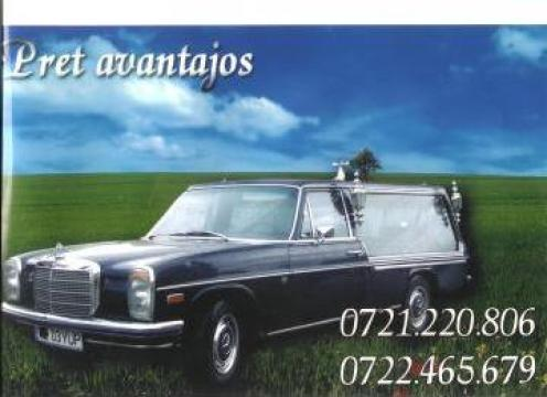 Masina mortuara Dric Mercedes de la Davi Company