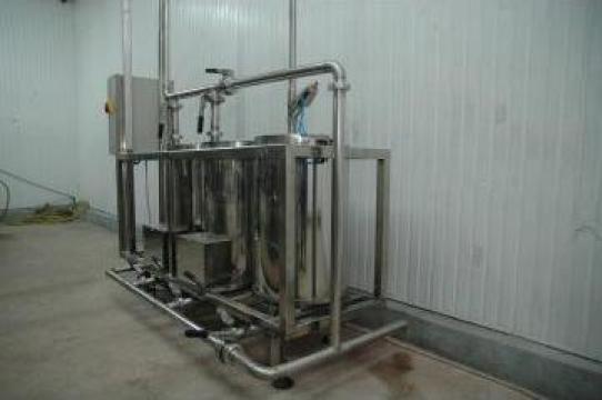 Instalatie igienizat CIP (clean in place)