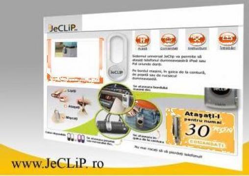 Accesorii pentru agatare a telefonului Jeclip de la Sbedgroup Srl