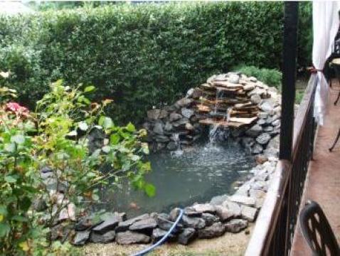 Folii petru constructie iazuri de la Garden Rustic Spatii Verzi
