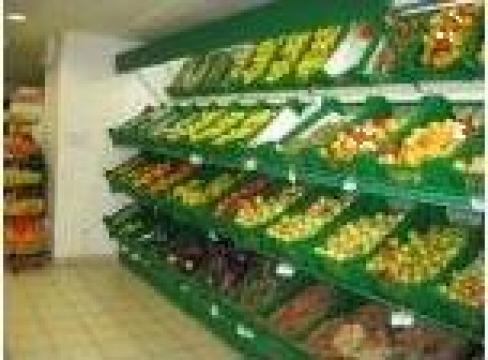 Raft perete pentru legume - fructe de la Sztufi Serv Srl