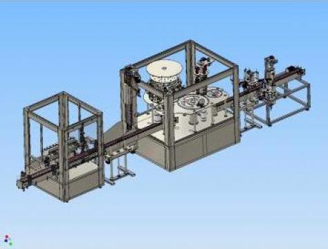 Linie rotativa de ambalat lichide la recipiente PET