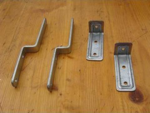 Cleme si sisteme de fixare din tabla zincata de la Stahlpres S.r.l.