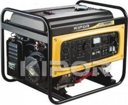 Generator electric pe benzina Kipor 5,5 KVa de la Euro Energ Optim Service Srl