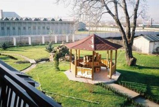 Pavilioane, pergole, podete, mobilier lemn