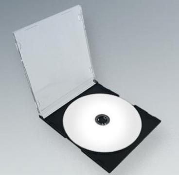 Carcasa CD Slim spate negru de la Top Production Srl