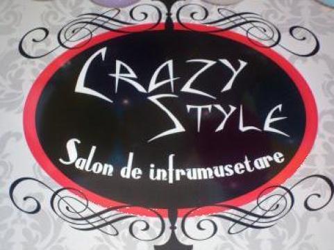 Servicii de coafor, frizerie laSalonul Crazy Style de la Sc Uzzi Building Srl