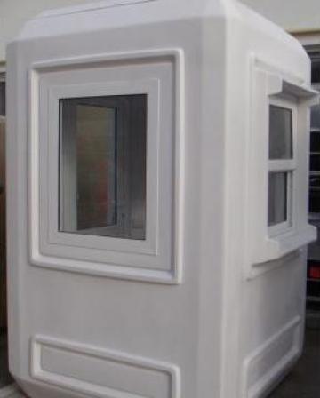 Cabina modulara de paza de la Amenajari Ecourbane Srl