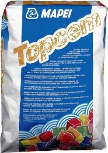 Ciment aditivat de amestec cu agregate si apa Topcem