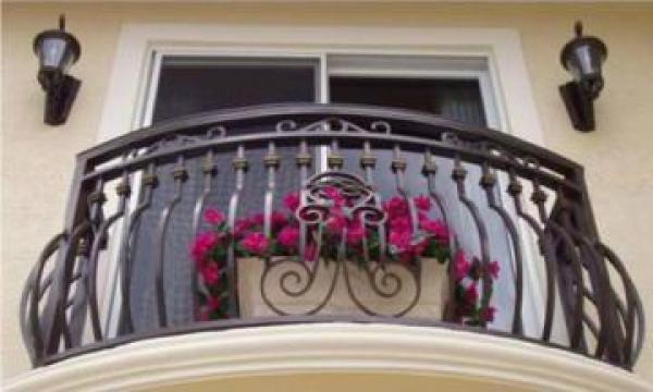 Balustrada pentru balcon din fier forjat