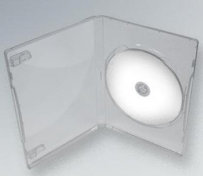 Carcasa DVD Transparenta standard de la Top Production Srl