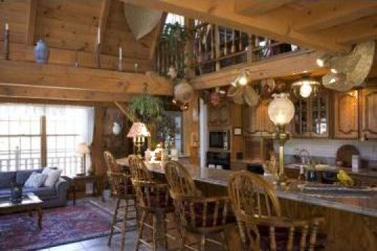 constructii cu structuri din stejar imbinate traditional