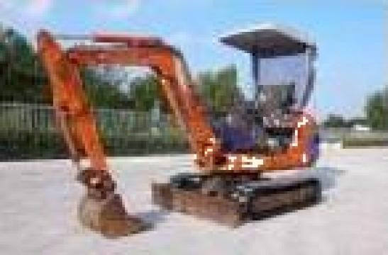 Inchiriere miniexcavator Fiat-Hitachi de la Agrostar