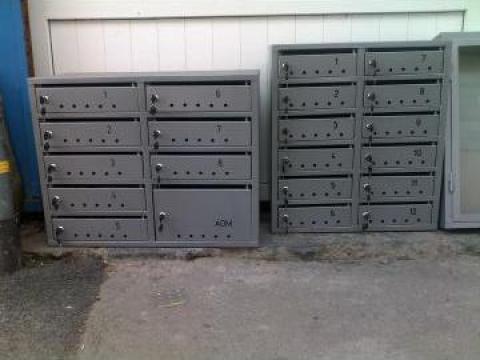 Cutii postale bloc de la Sc Iulmet Servicii Srl