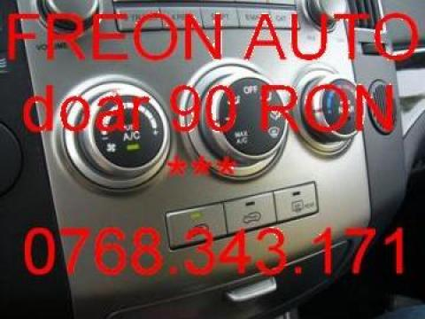Incarcare freon auto la domiciliu de la Freon Auto