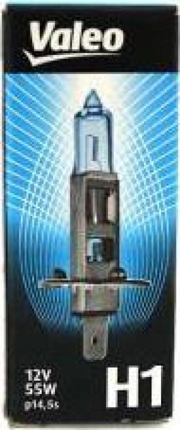 Bec halogen h1 12v 55wlumina xenon Valeo de la Alex & Bea Auto Group Srl
