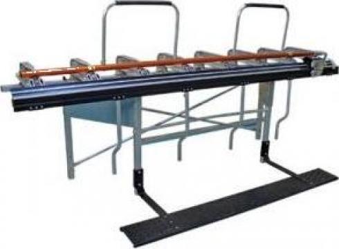 Masina manuala de indoit, cutat, taiat tabla Tapco Supermax de la Sc Rom Prest Service Srl