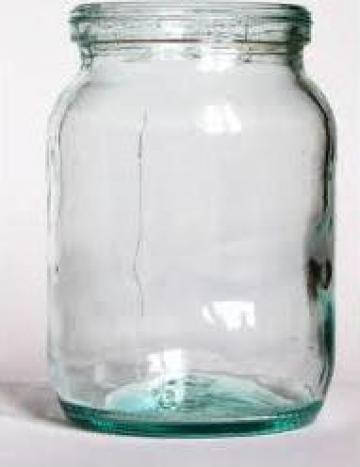 Borcan 314 ml alb