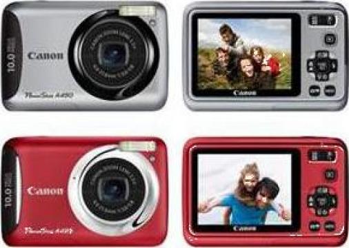 Aparat foto digital Canon PowerShot A495 Silver de la Fotopipe Srl