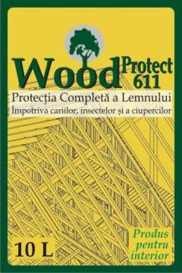 Tratare chimica lemn anticarii WoodProtect 611