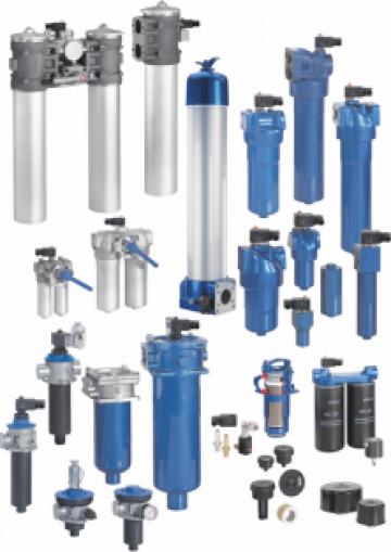 Filtre pentru aplicatii hidraulice